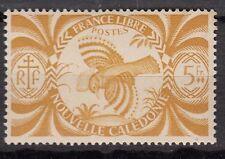 NOUVELLE CALEDONIE  TIMBRE COLONIE  FRANCE NEUF  N° 241 ** SERIE DE LONDRE CAGOU