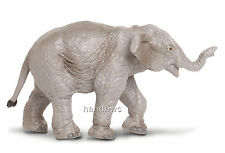 Safari Ltd. 222329 Asian Elephant Calf Wild Animal Toy Replica Figurine - NIP