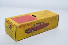 DINKY TOYS 552 CHEVROLET CORVAIR ORIGINAL EMPTY BOX EXCELLENT RARE