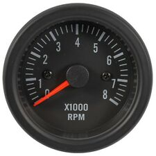 52mm LED Backlight Electrical Tachometer Gauge