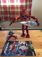 Lego Bionicle Toa Mahri Toa Jaller Set # 8911 Complete with Instructions