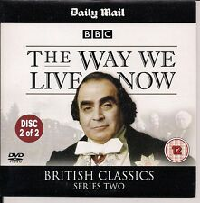 BBC BRITISH CLASSICS THE WAY WE LIVE NOW 2 of 2 DAVID SUCHET