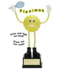 Tennis Novelty Trophy + FREE Engraving + FREE P&P On Additional Trophies