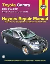 2007-2011 Toyota Camry Service Repair Manual shop book Owners 07 08 09 10 2011