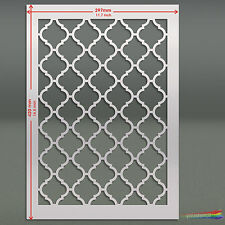 Large Moroccan  Stencil Template #8 : For Walls & Fabric Decoration: ST59A3