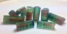 158 cts Top Quality Rare Find Blue Cap Brazilian Watermelon Tourmaline Crystals