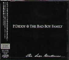 P. Diddy & The Bad Boy Family - THE SAGA CONTINUES - Japan CD - NEW Puff Daddy