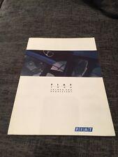 1994 FIAT CINQUECENTO PANDA UNO PUNTO TIPO TEMPRA Colore & Tappezzeria opuscolo