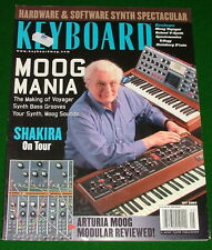 2003 Keyboard Magazine: ARTURIA MOOG MODULAR Reviewed Voyager, ROLAND V-Synth