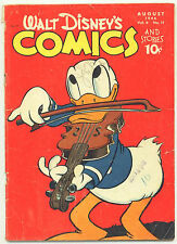 Walt Disney's Comics and Stories # 71 (1946) Donald Duck Mickey Mouse Golden Age