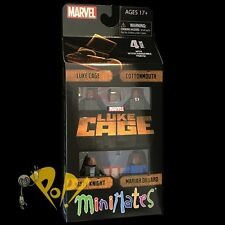 MARVEL Minimates LUKE CAGE Box Set NETFLIX Sealed COTTONMOUTH Misty & MARIAH!