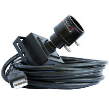 Mini UVC USB Microscope 8MP Endoscope Electronic Camera 2.8-12mm Varifocal Lens