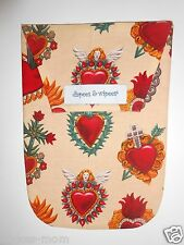 New Diapees and Wipees Diaper and Wipes Clutch Bag Funky Tattoo Print