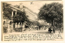 24648 PC Postcard China Shanghai The Bund 1902 AK Der Damm