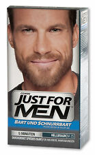 Just for Men Pflege-Brush-In-Color-Gel (Bartgel) Hellbraun für Bart&Schnurrbart