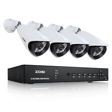 ZOSI Outdoor 8CH 960H DVR 1000TVL Security Camera Home Surveillance CCTV System
