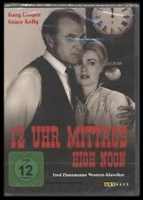DVD 12 UHR MITTAGS - HIGH NOON - GARY COOPER + LEE VAN CLEEF (Western) ** NEU **