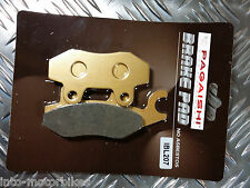 SEMI METAL REAR BRAKE PADS FOR AJS EOS 125 Regal Raptor 09-10 R