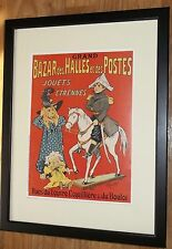 F Cerckel poster -12''x16'', Toys at the Bazar des Halles , Advertisement poster