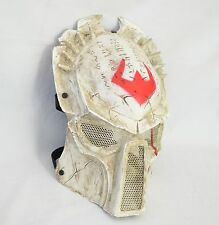 White Prop AVP Predator Airsoft Paintball Wire Mesh Protection Halloween  Mask