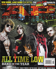 Alternative Press magazine All Time Low Street Dogs Leathermouth Family Force 5