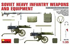 Miniart 35170 1/35 Soviet Heavy Infantry Weapons and Equipment