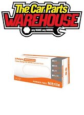 1 BOX of 90 LARGE Finite Orange HEAVY DUTY Nitrile Powder Free Disposable Gloves