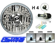 5-3/4 Crystal Clear Headlight 5k 6k 8k LED Light Bulb Headlamp Harley Motorcycle