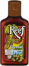 REEF DARK SUN TAN OIL COCONUT 125ML - NO SPF - tanning lotion oil - CHEAPEST