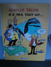 Achille Talon n'a pas Tout Dit - 1984