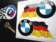 BMW tondo+ondulato Tedesco colore bandiera 125mm adesivi M3 M5 M sport CSL K GS