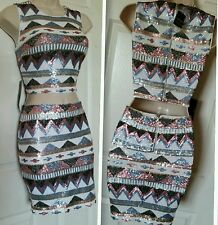 NWT BEBE SEQUIN TWO PIECE  DRESS SZ S for a Glamorous Night MSRP$183.00+