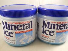 Mineral Ice  Pain Reliving Gel 16 oz each  (2pk bundle) fresh & new exp 7-2018