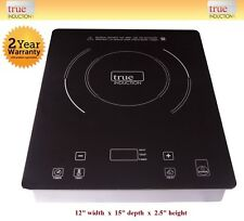 Induction Cooktop TI-1B * True Induction Single Burner Cooktop * Counter Inset