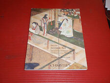 CHRISTIE'S AUCTION HOUSE BOOK/CATALOGUE JAPANESE ART MARCH 2006