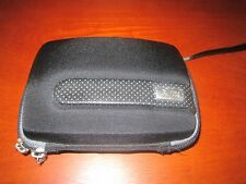 Case Logic Black Small Camera Bag / Hard Case with attach carrying cord
