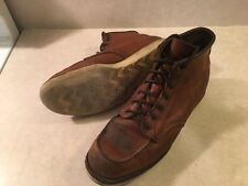 RED WING 875 IRISH SETTER MENS 11 LEATHER ANKLE HIGH MOC BOOTS