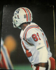 STEPHEN STARRING DISPLAY NEW ENGLAND PATRIOTS THROWBACK DOUBLE SIDED