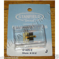 Shure N55E Compatible Turntable Stylus. - Stanfield Part # D425E