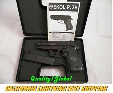 NEW BLACK EKOL P29 MOVIE PROP PISTOL REPLICA SIG SAUER 229 HAND GUN TRAINING AID