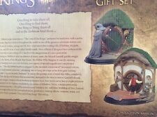 Amazing Lord Of The Rings Lotr Hobbit Tolkien Book Bookends Rare Gift Set Weta