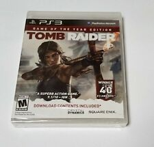 Tomb Raider -- Game of the Year Edition (Sony PlayStation 3, 2014)