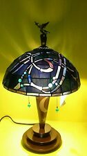 Disney Stained Glass Sorcerer Mikey Mouse Lamp Limited Edition To 1,500 NIB RARE