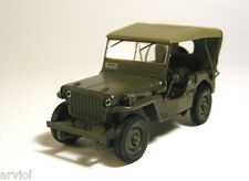 JEEP WILLYS MB ( 1945 )  POLISH ARMY MILITARY JEEP-- 1/43 -- IXO/IST -- NEW