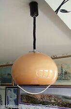 Mid century modern PENDANT LIGHT by HARVEY GUZZINI Pulley Lamp 1970s
