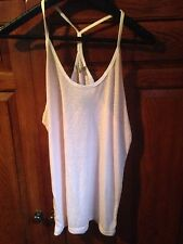 New Urban Outfitters Alternative Apparel Pink Racerback Tank Too M