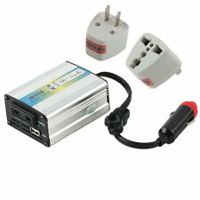 12V DC to AC 220V Car Auto Power Inverter Converter Adapter Adaptor 200W USB LU