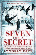 Seven for a Secret (Gods of Gotham 2), Faye, Lyndsay, Very Good, Hardcover
