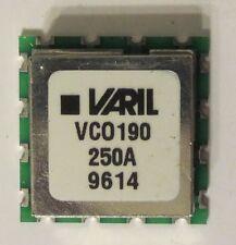 """QTY 1 of Sirenza/Vari-L VCO 200MHz-300MHz, VCO190-250A, 0.9"""" x 0.9""""  .25"""" tall"""
