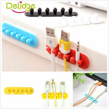 Hot New 2x Earphone Winder Cable Cord Organizer Holder Phone Cable Holder